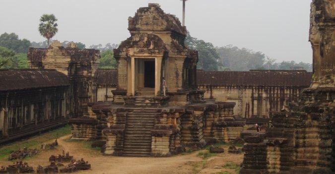 Kompleks Angkor w Kambodży