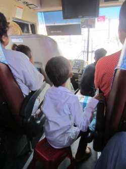 Bus z Battambang do Siem Reap