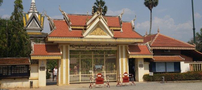 Choeung Ek pod Phnom Penh