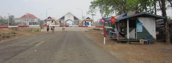 Granica Laos - Kambodża