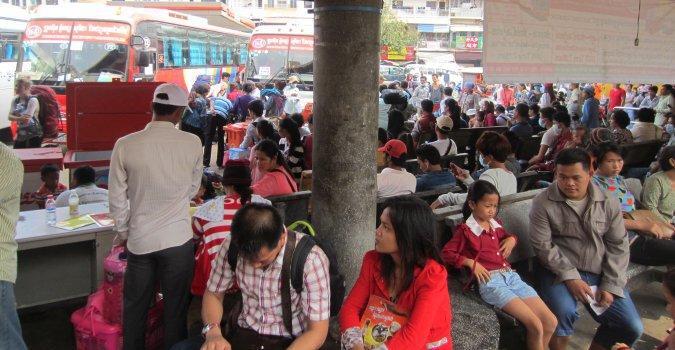 dworzec w Phnom Penh