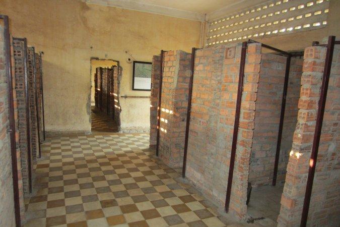 więzienie S 21 w Phnom Penh