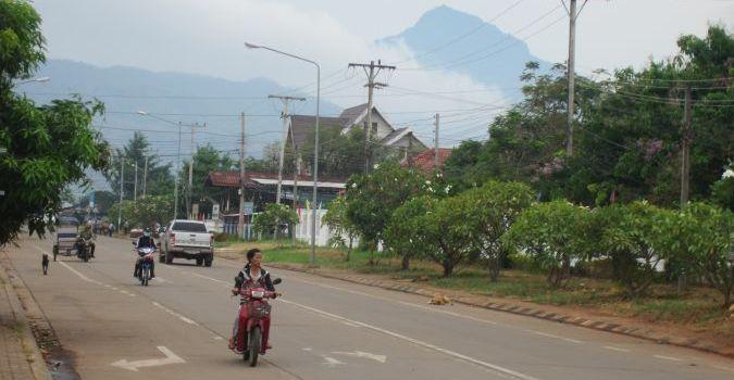 Pakse w Laosie
