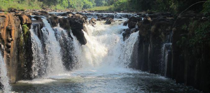 wodospad w Laosie