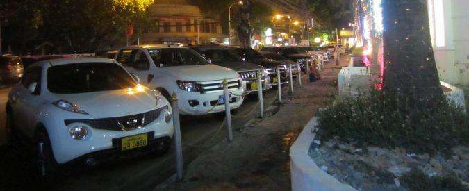Wientian samochody