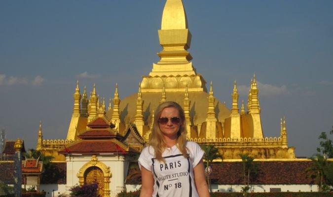 Pha That Luang w Laosie
