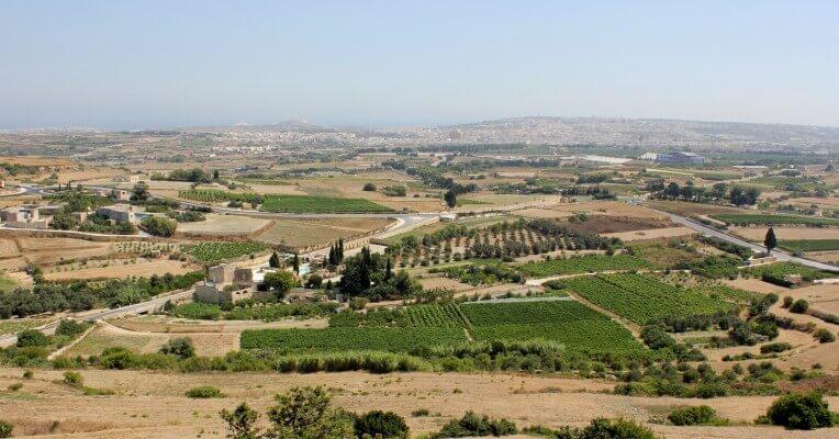 Malta widok z hotelu