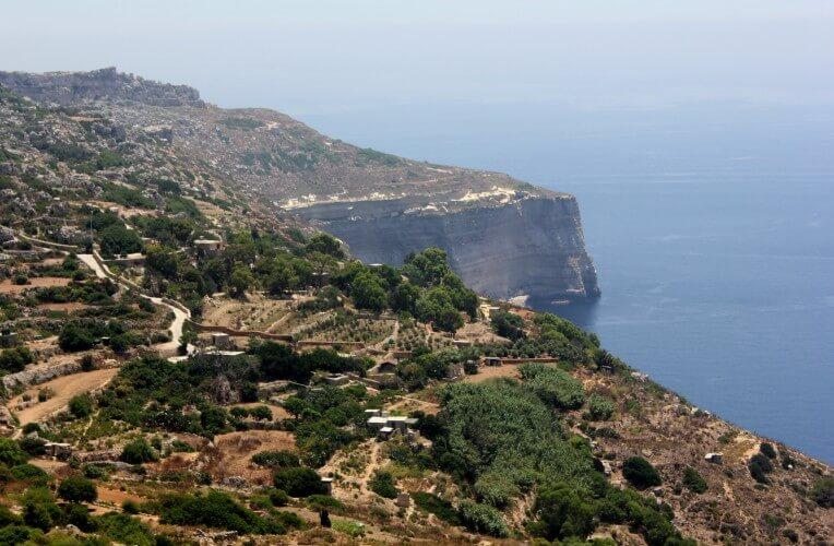 Dingli klify, Malta