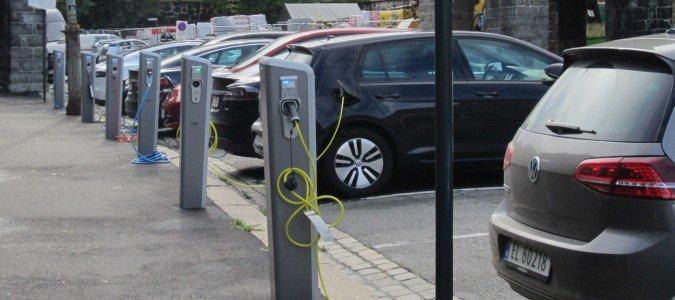 Parkingi na samochody elektryczne