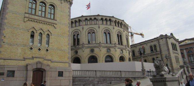 Parlament w Oslo