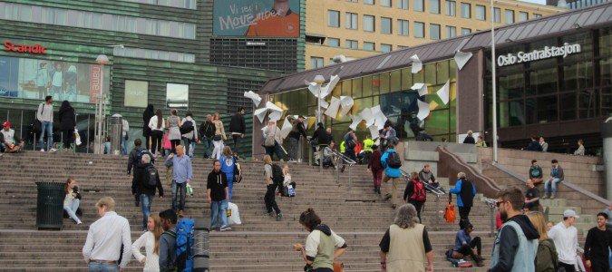 Dworzec główny w Oslo