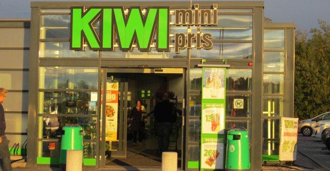 Sklep KIWI w Norwegii