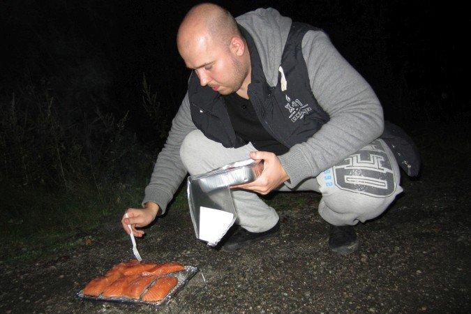 Posiłek w Norwegii