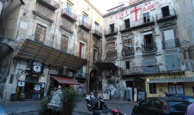 Palermo plac Vucciria