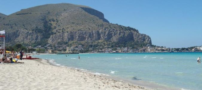 plaża w Palermo