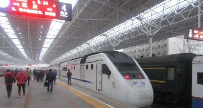 Pociąg w Pekinie