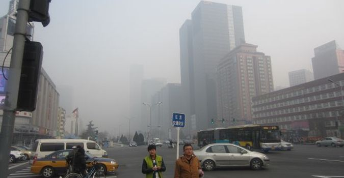 smog w Pekinie