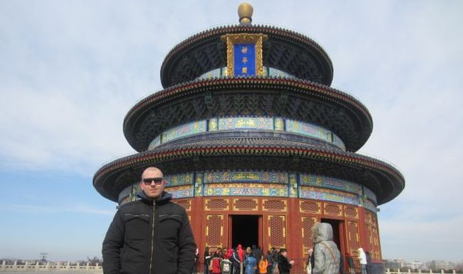 Temple Of Heaven w Pekinie