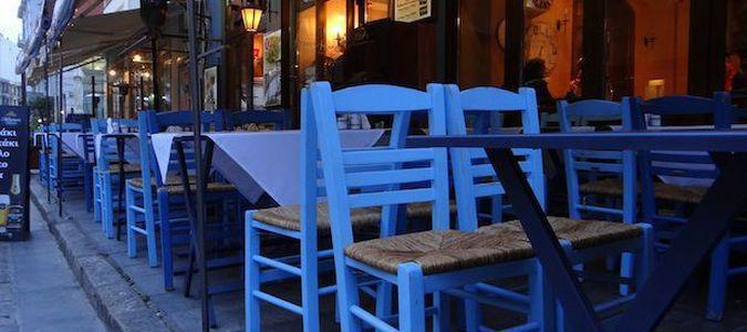 uliczka w Salonikach