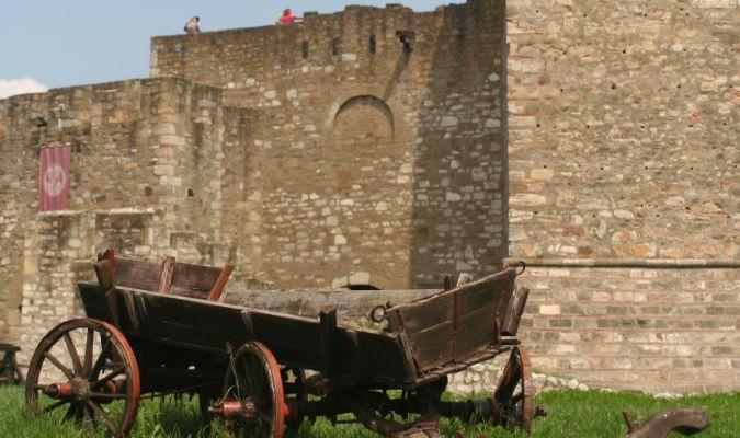 Mury twierdzy Smederevo