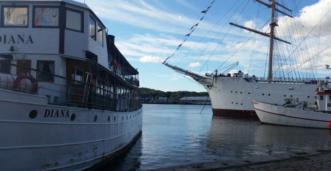 Goteborg nabrzeże