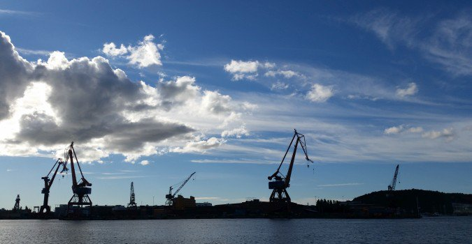 Goteborg żurawie