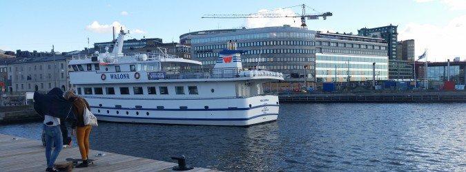 Goteborg - nabrzeże i statki