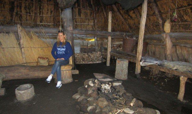 Tanum - Vitlycke Museum - zrekonstruowana chata