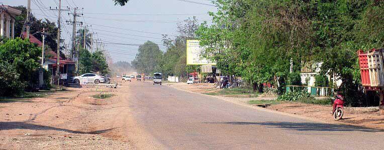 Drogi w Laosie