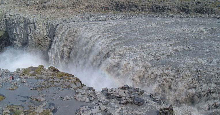 Wodospad Dettifos w Islandii