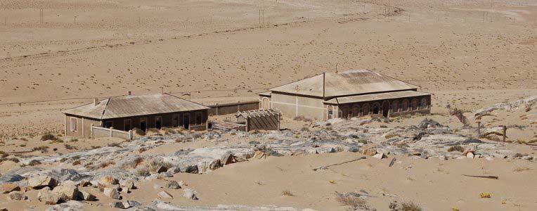 Kolmanskop w Namibii
