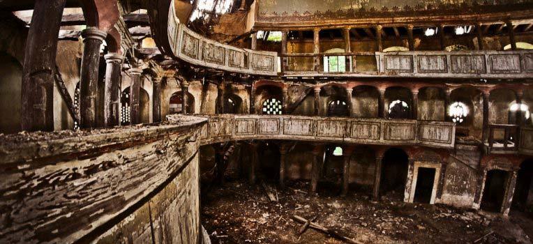 Kościół w Żeliszowie - wnętrze