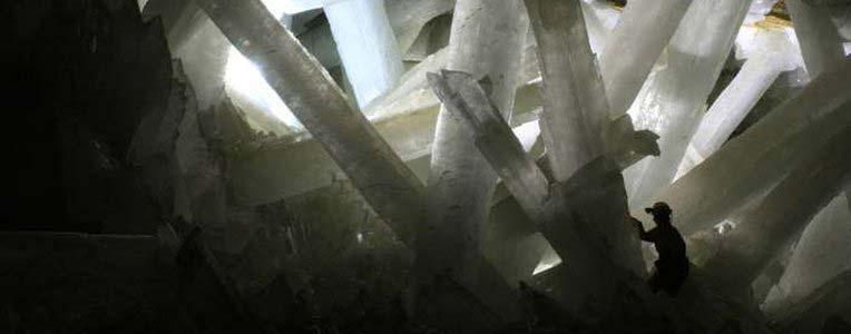 Jaskinia Naica w Meksyku