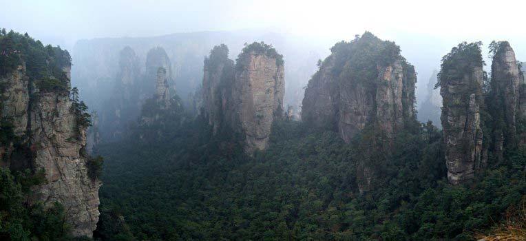 Góry Tianzi w Chinach