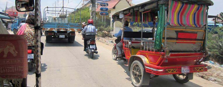 jak poruszać się po Laosie