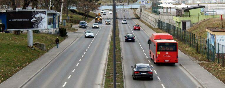 transport wewnątrz Łotwy