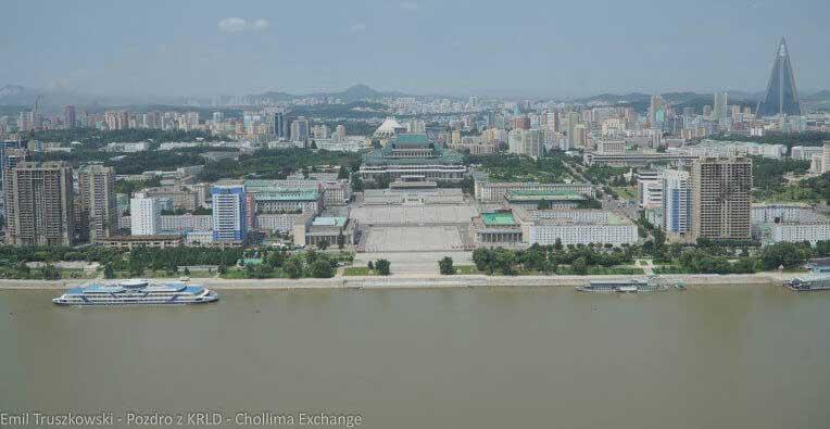 Panorama Pjongjangu