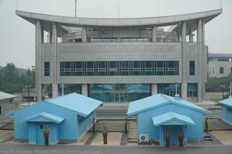 DMZ od strony Korei Północnej