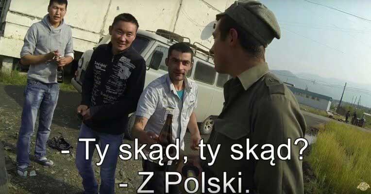 Michał Pater Autostopem Na Koniec Świata